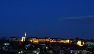 Foppaluera, Madonna della Neve e Marte sopra il campanile