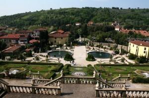 Vista panoramica sul Giardino di Villa Garzoni