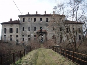 Il decadente castello di Landriano