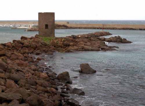 Castelsardo - La torre sul molo