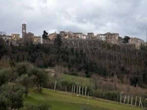 Le mura di Maiolati