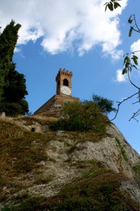 Sullo sperone…..la Torre