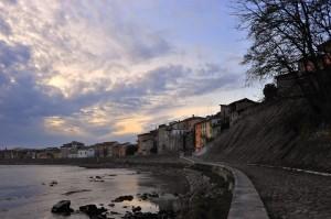 Si avvicina il tramonto su Pescantina