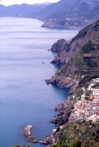 Riomaggiore e la costa delle 5 terre