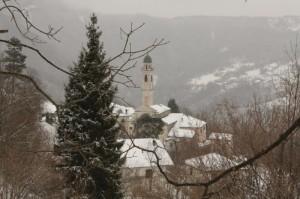 Rondanina sotto la neve