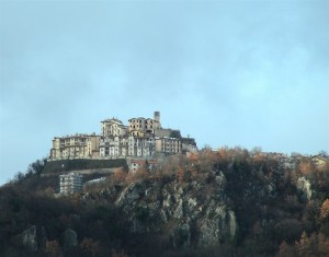 Panorama di Roccacinquemiglia.