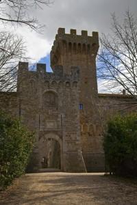Ingresso al Castello di Spedaletto