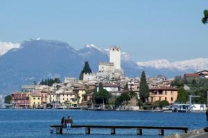 Panorama di Malcesine sul Lago di Garda