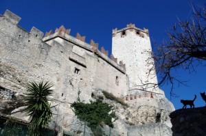 L'altro lato del Castello Scaligero di Malcesine
