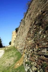 Le vecchie mura di Fiorenzuola