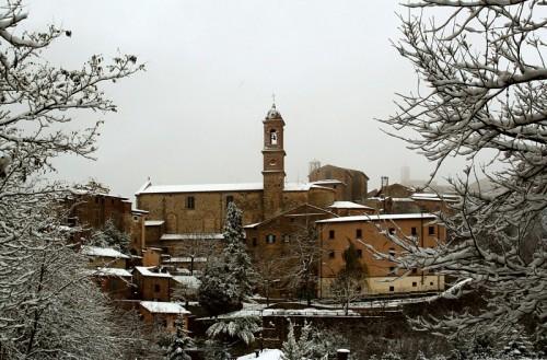 Montepulciano - Sotto una bella nevicata