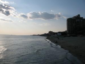 Pomeriggio sulla spiaggia di Follonica
