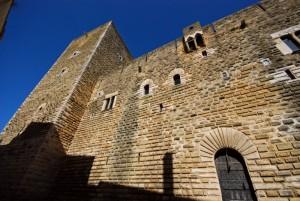 l'altro ingresso del castello federiciano di Gioia del Colle