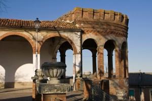l'antico castello di Moncalvo
