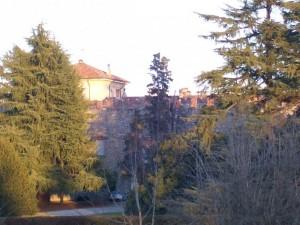 Il castello di Caidate si nasconde