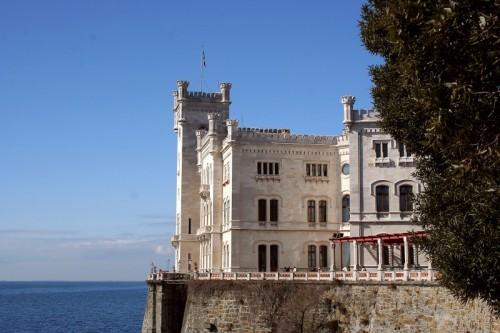 Trieste - La residenza di Massimiliano e Carlotta