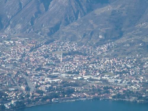 Valmadrera - Valmadrera dal Pizzo d'Erna