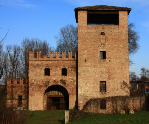 Mantova - a guardia del ponte San Giorgio
