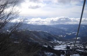 La Val D'Aveto dall'alto