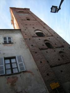 la torre civica di Rocca de' Baldi