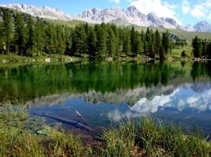 il Lago San Pellegrino, Moena di Fassa
