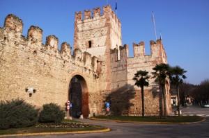 Le mura di protezione del Castello di Soave