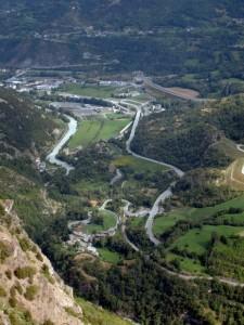 Mecosse frazione di Arvier vista da St.Nicholas