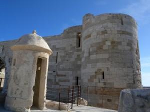 Siracusa - Castello di Maniace, particolare