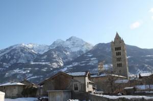 Aosta innevata