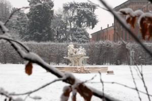 Neve alla Villa Litta