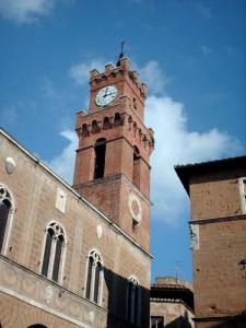 La Torre dell'Orologio del Palazzo comunale