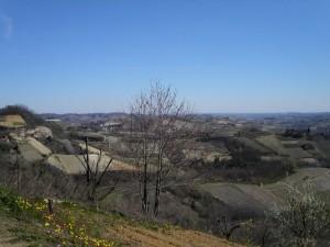 panorama di Montaldo Roero