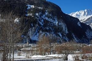 Inverno a Morgex