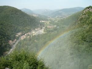 arcobaleno in Valnerina