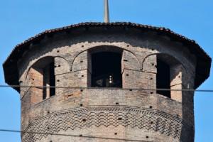 Casaforte degli Acaja - particolare della torre lato est