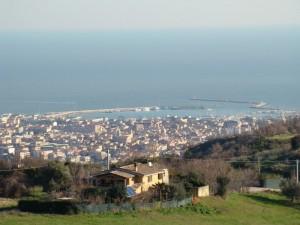 Panorama San Benedetto nord e porto