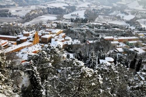 Brisighella - Panorama invernale