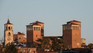 le torrri del castello di Acaja