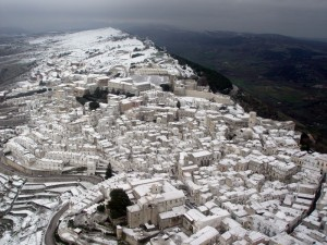 Neve a Monte Sant'Angelo