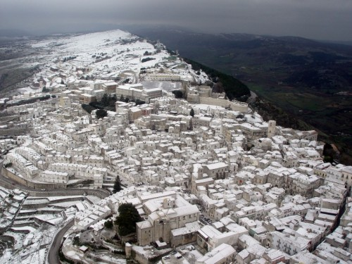 Monte Sant'Angelo - Neve a Monte Sant'Angelo