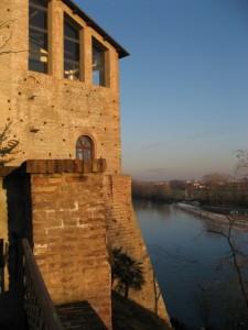 Il Bastione del Castello Borromeo