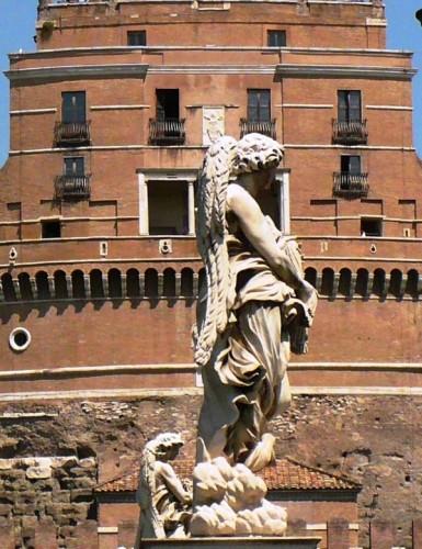 Roma - L'angelo guarda...