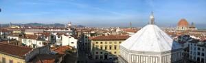 Sui tetti di Firenze