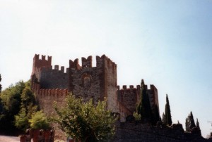 il castello sul Monte Tenda