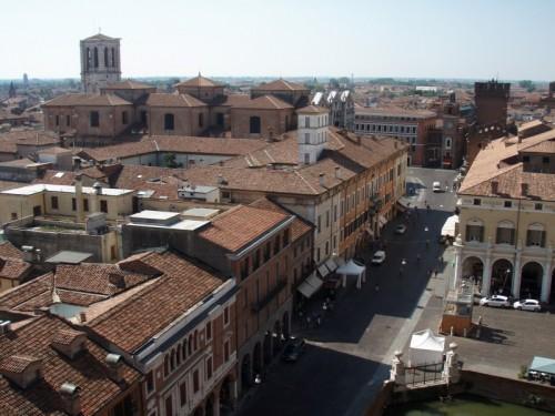 Ferrara - Da una torre del castello