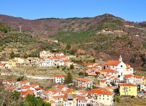 Borgo Feglino sul torrente Aquila