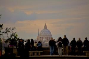 Incantati dalla maestosità di Roma