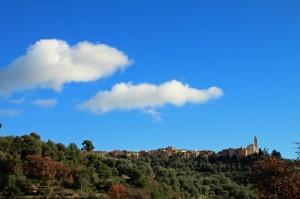 Civezza e le due nuvole