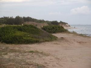Campomarino di Maruggio : la spiaggia