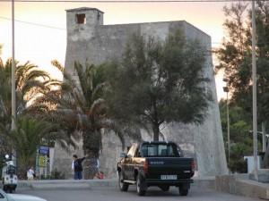 Torre de' Molini nel centro di Campomarino